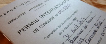 Le permis de conduire international